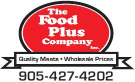 The FOOD PLUS Company