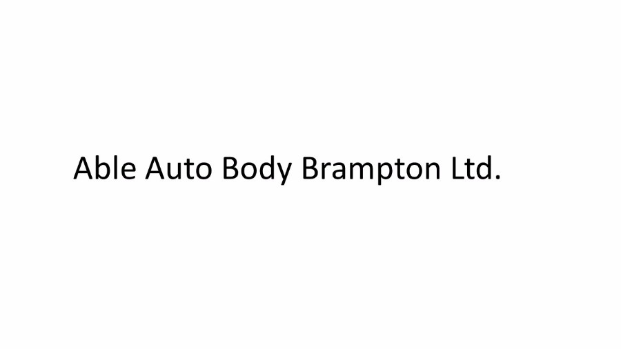 Able Auto Body Brampton Ltd.