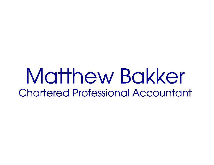 Matthew Bakker Chartered Professional Accountant